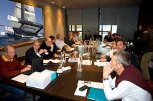 America's Cup challengers meeting in Geneva