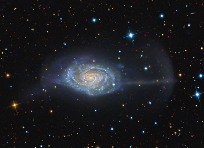 APOD: the Umbrella Galaxy