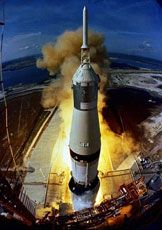 Apollo 11 blastoff