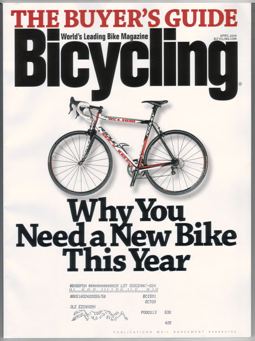Bicycling: why you need a new bike this year