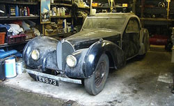1937 Bugatti - found in a barn!