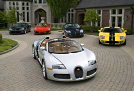 Bugatti Grand Sport convertible