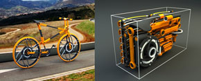 Eco 7 folding bike - the coolest ever!