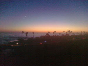 Encinitas sunset - on an beautiful evening...