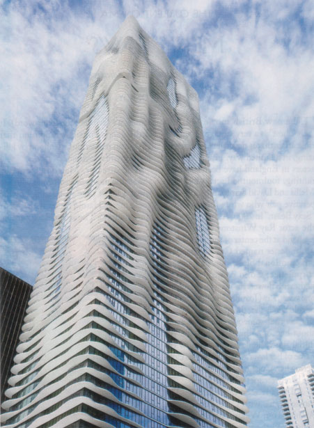 Jeanne Gang's Aqua building in Chicago