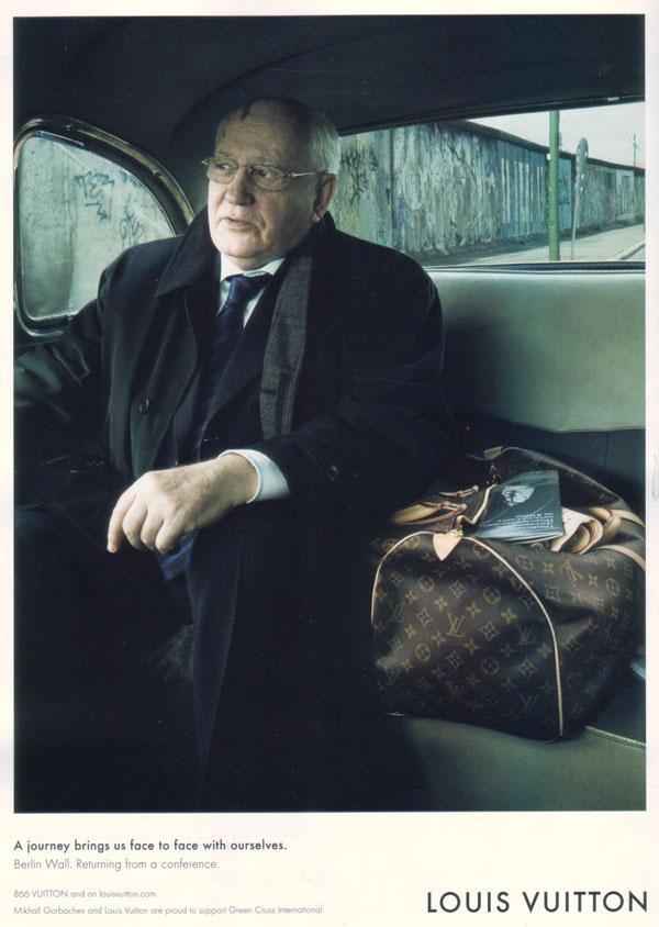 Gorbachev and Louis Vuitton