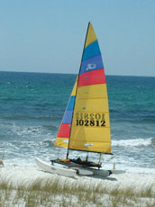 Hobie 16 in its natural environment
