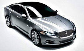 the new Jaguar XJ styled like the XF