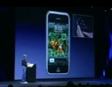 Steve Jobs' iPhone keynote at Macworld