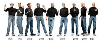 Steve Jobs and Apple have remainded consistently great over time