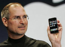 Steve Jobs w iPhone 3G