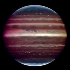 Jupiter from Earth