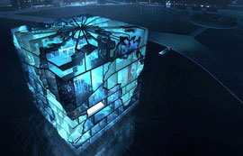 Water Cube Pavilion for the 2012 World Expo in Korea
