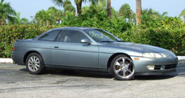 the 1992 Lexus SC400