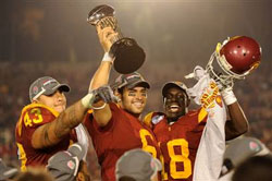 Mark Sanchez and USC dominate the Rose Bowl