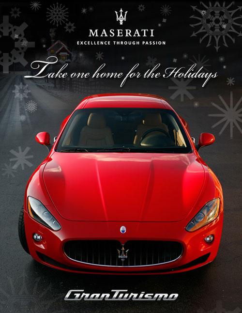 Maserati GT for the holidays
