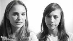 "Natalie Portman and Rashida Jones - ""puppies"""