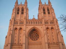 the National Cathederal in Washington D.C.
