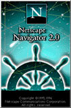 Netscape 2.0 splash screen