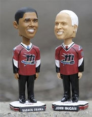 Obama and McCain bobbleheads...
