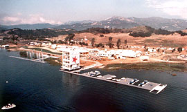 1984 Olympic rowing venue at Lake Casitas