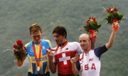 Olympic time trial men's podium
