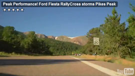 Peak Performance: POV video climbing Pike's Peak at high speed
