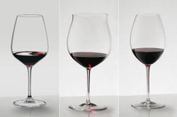 Reidel stemware; does make your wine taste better