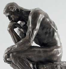 Auguste Roin: The Thinker