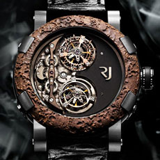 "Romain Jerome ""watch"" does not tell time"