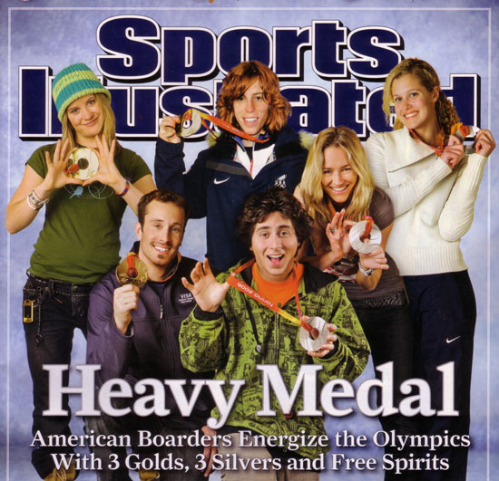 Sports Illustrated - Heavy Medal