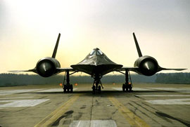 SR71 blackbird - most remarkable plane of the 20th century