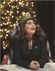 Sarah Palin in the NYTimes