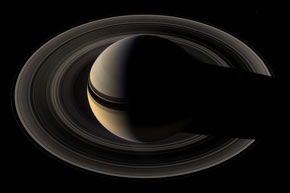 Saturn as seen from Cassini!
