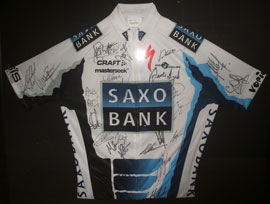 Saxo Bank Tour of California Team Jersey