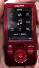Sony Walkman MP3/video player