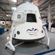 SpaceX' Dragon capsule