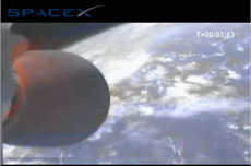 SpaceX makes orbit!