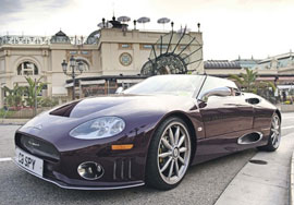 Spyker C8 - beautiful