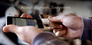 Square - a new payment service which uses audio input jacks to take credit cards