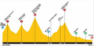 TDF stage 16 profile