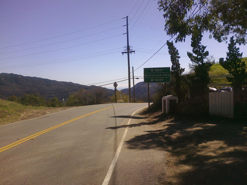 Touring the Lakes: Mulholland (at the top of Decker)