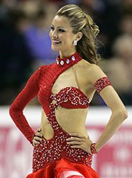 Ice dancer Tanith Belbin