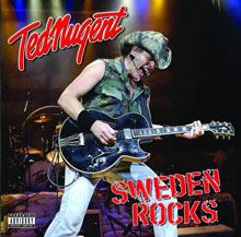 Red Nugent live - Sweden Rocks