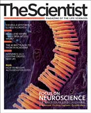 TheScientist - magazine of the year!