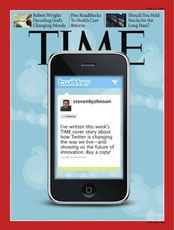 Time Magazine features Twitter as their cover story