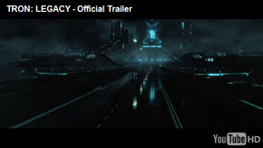 Tron Legacy trailer. Oh yeah.
