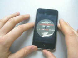 Vinyl ipod app - a mini disc player :)