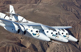 Virgin Galactic's virgin flight