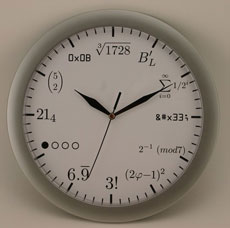 cool clock for geeks